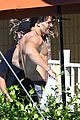 channing tatum goes swimming fully clothed shirtless joe manganiello 21