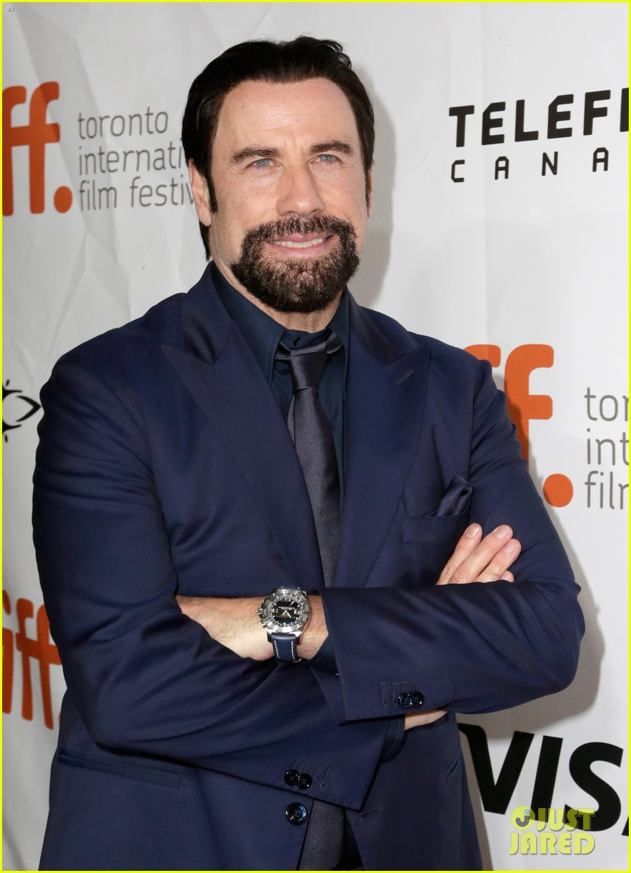 john travolta remembers crashing wedding party 113196218