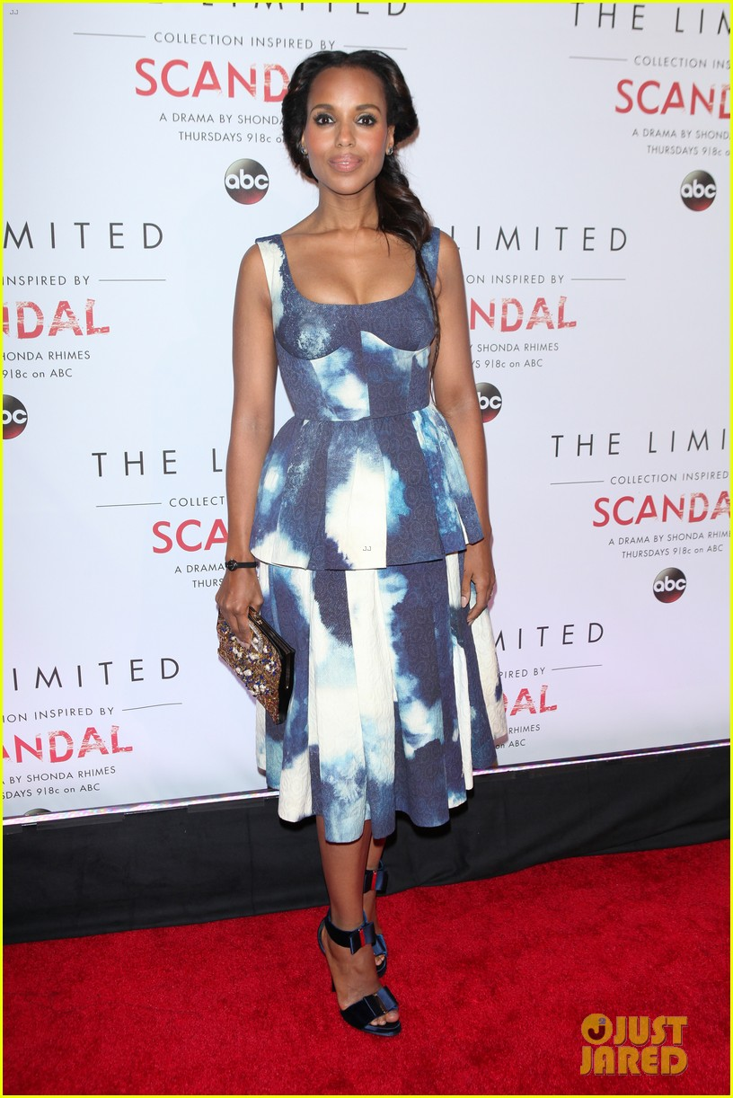 Scandal Fashions Kerry Washington