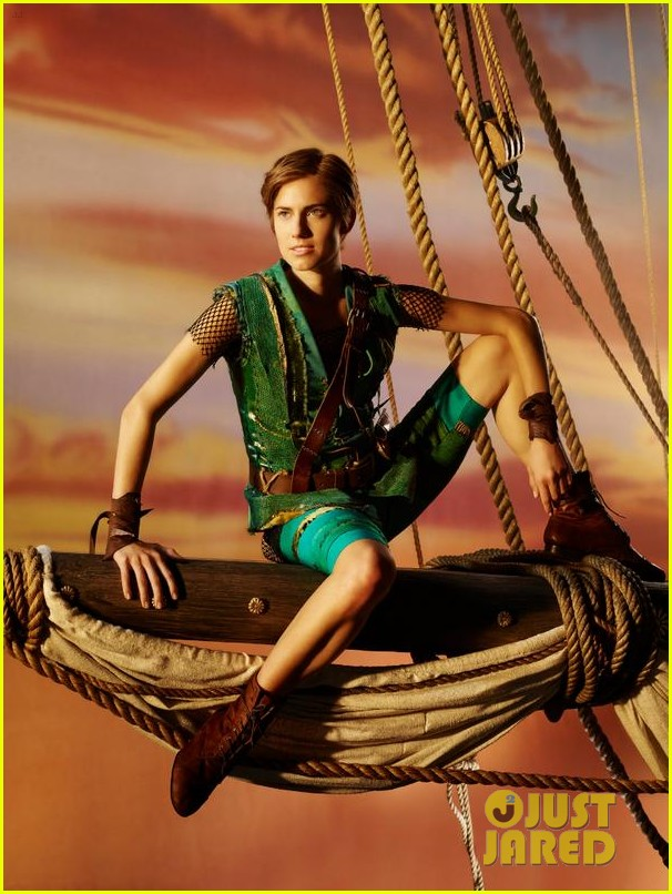 allison williams as peter pan first look photo 013188353
