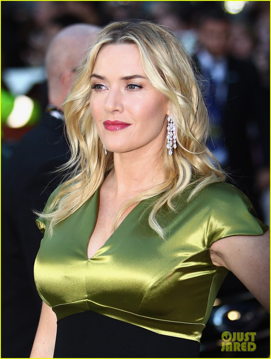 Kate Winslet Stuns at 'A Little Chaos' TIFF Red Carpet