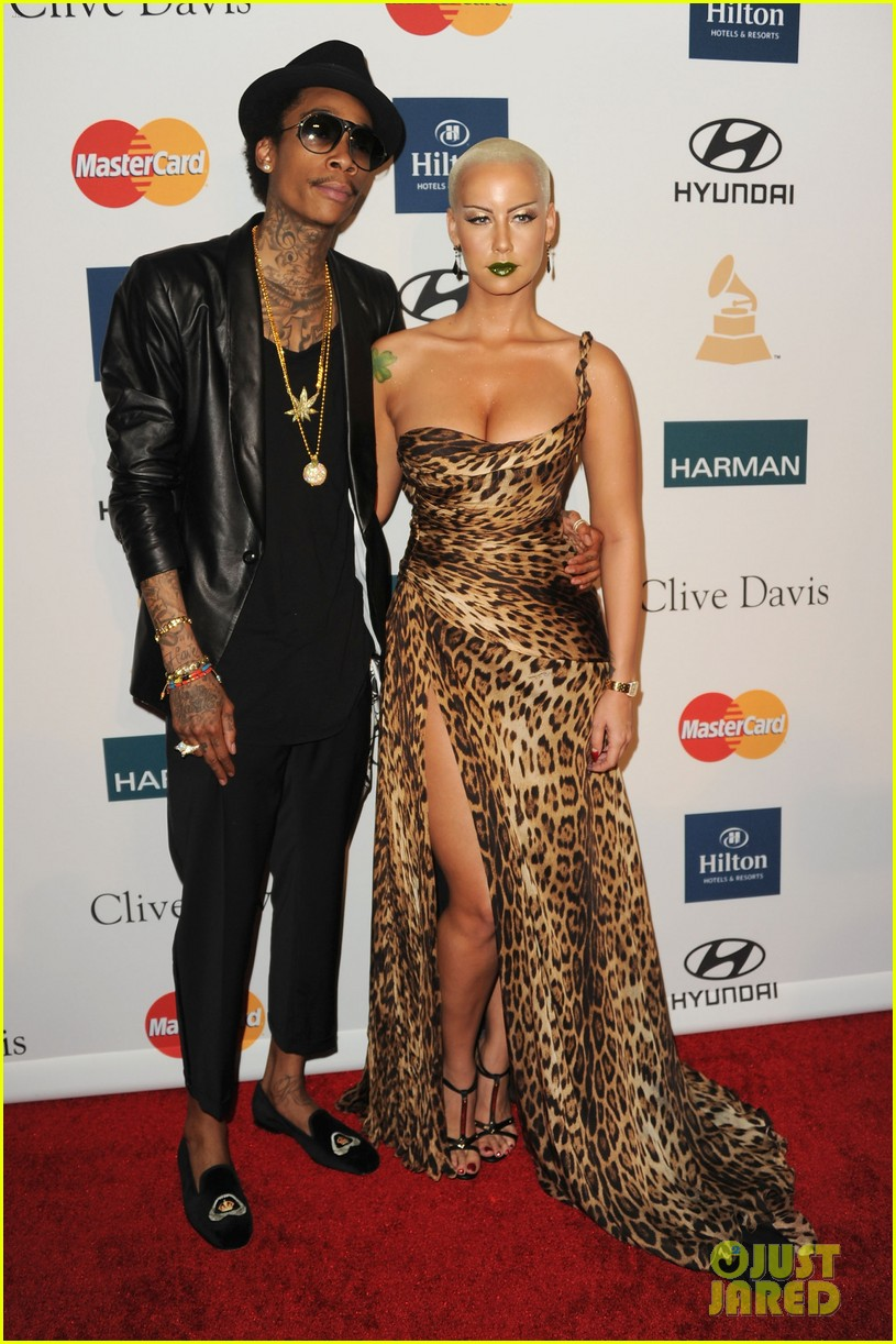 Wiz Khalifa Amp Amber Rose Split After A Year Of Marriage