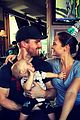 stephen amell celebrates wife cassandras birthday daughter mavi 03