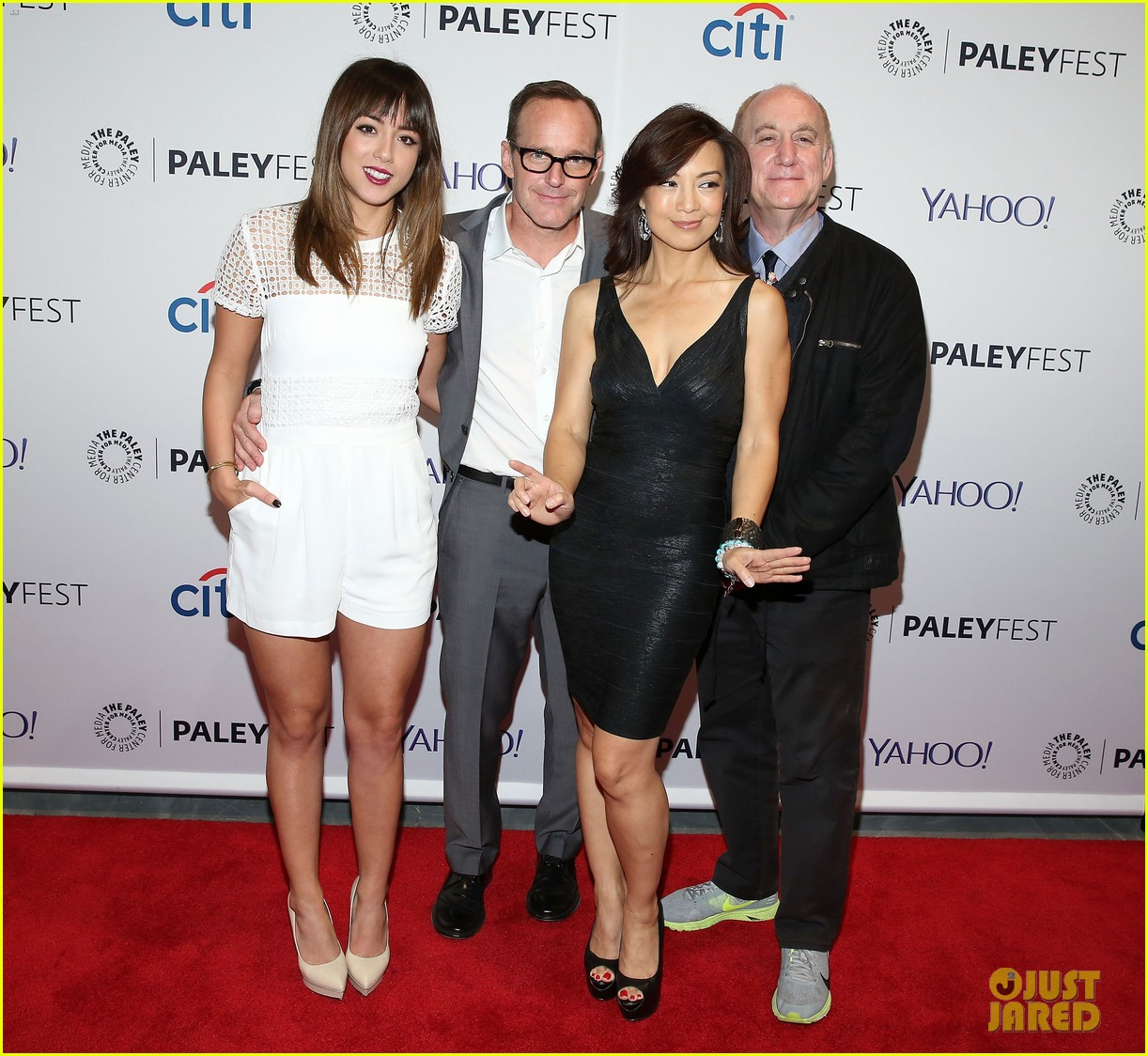 chloe bennet gets all dolled up for agents of s h i e l d paleyfest 063222911