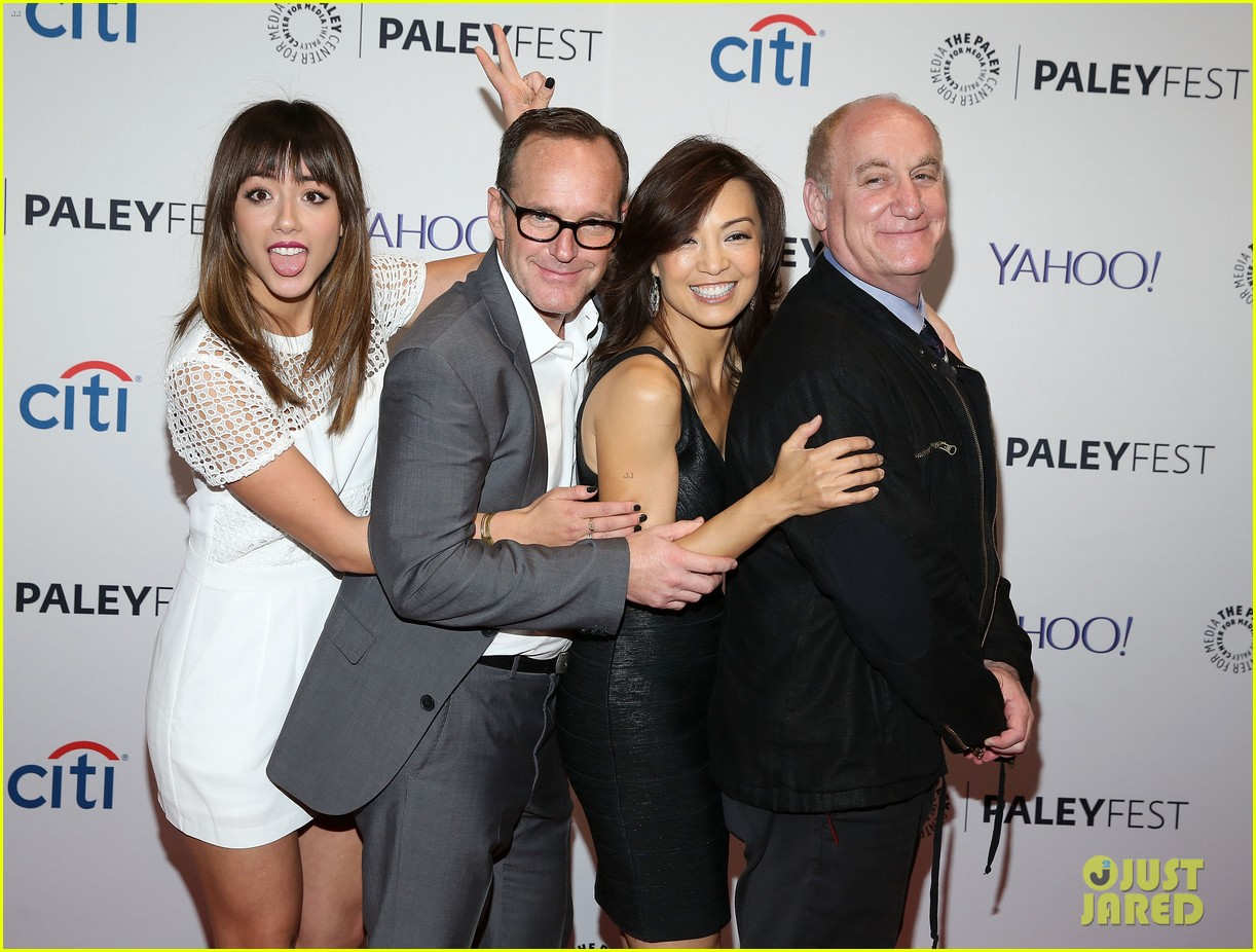 chloe bennet gets all dolled up for agents of s h i e l d paleyfest 073222912