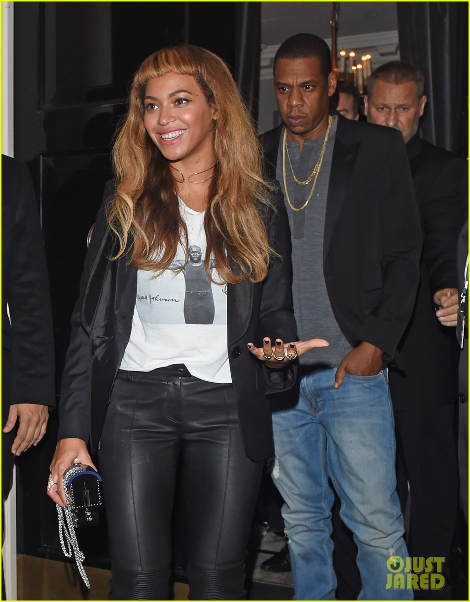 Beyonce Keeps Her New Hairstyle Going For Dinner With Jay Z Photo 3218761 Beyonce Knowles Jay Z Pictures Just Jared