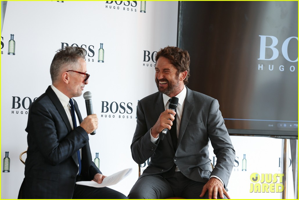 gerard butler launches his new boss bottled campaign 023210736