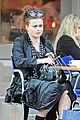 helena bonham carter wears interesting all black outfit 12