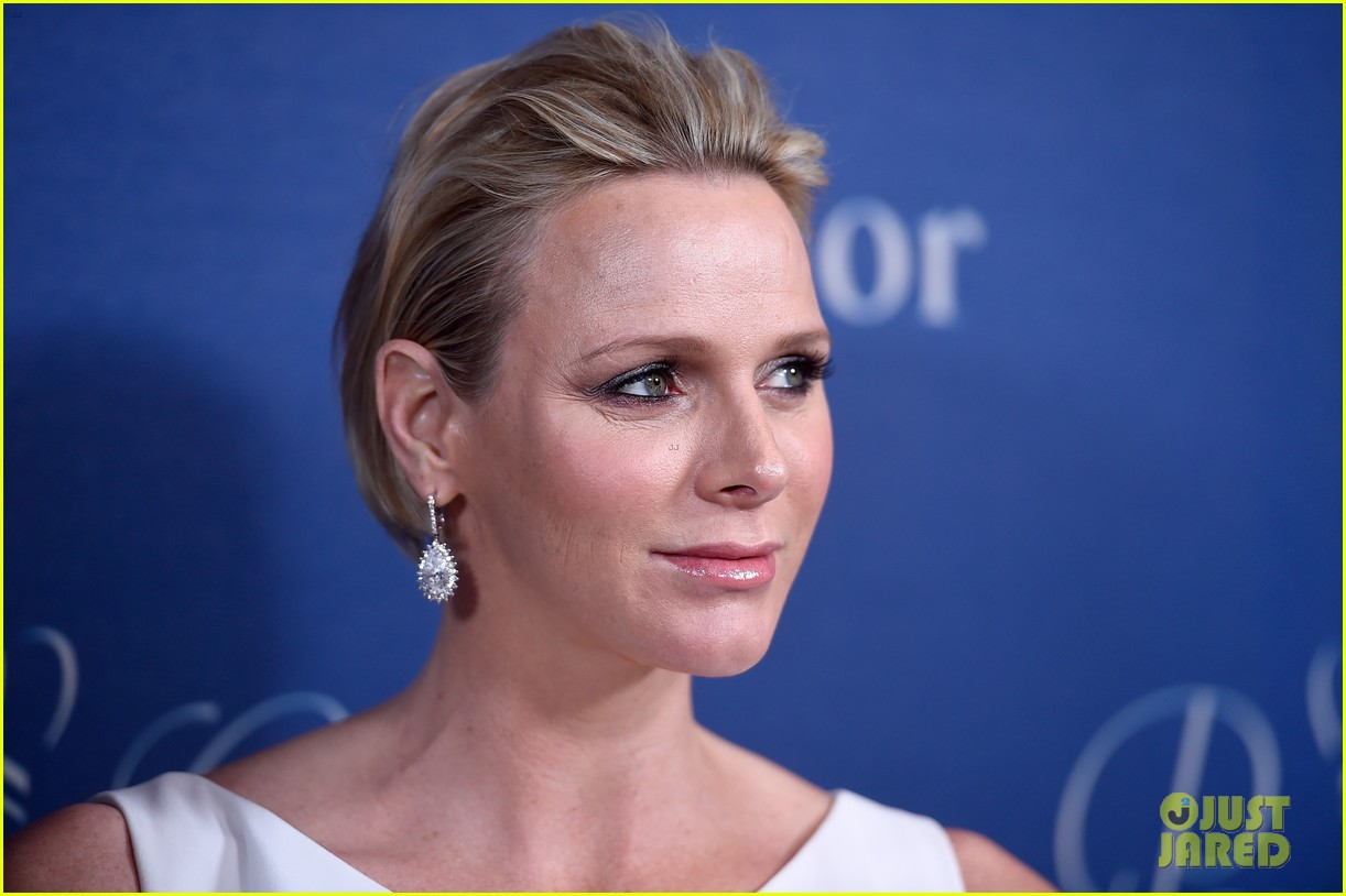 princess charlene hits the red carpet is pregnant with twins 033214414