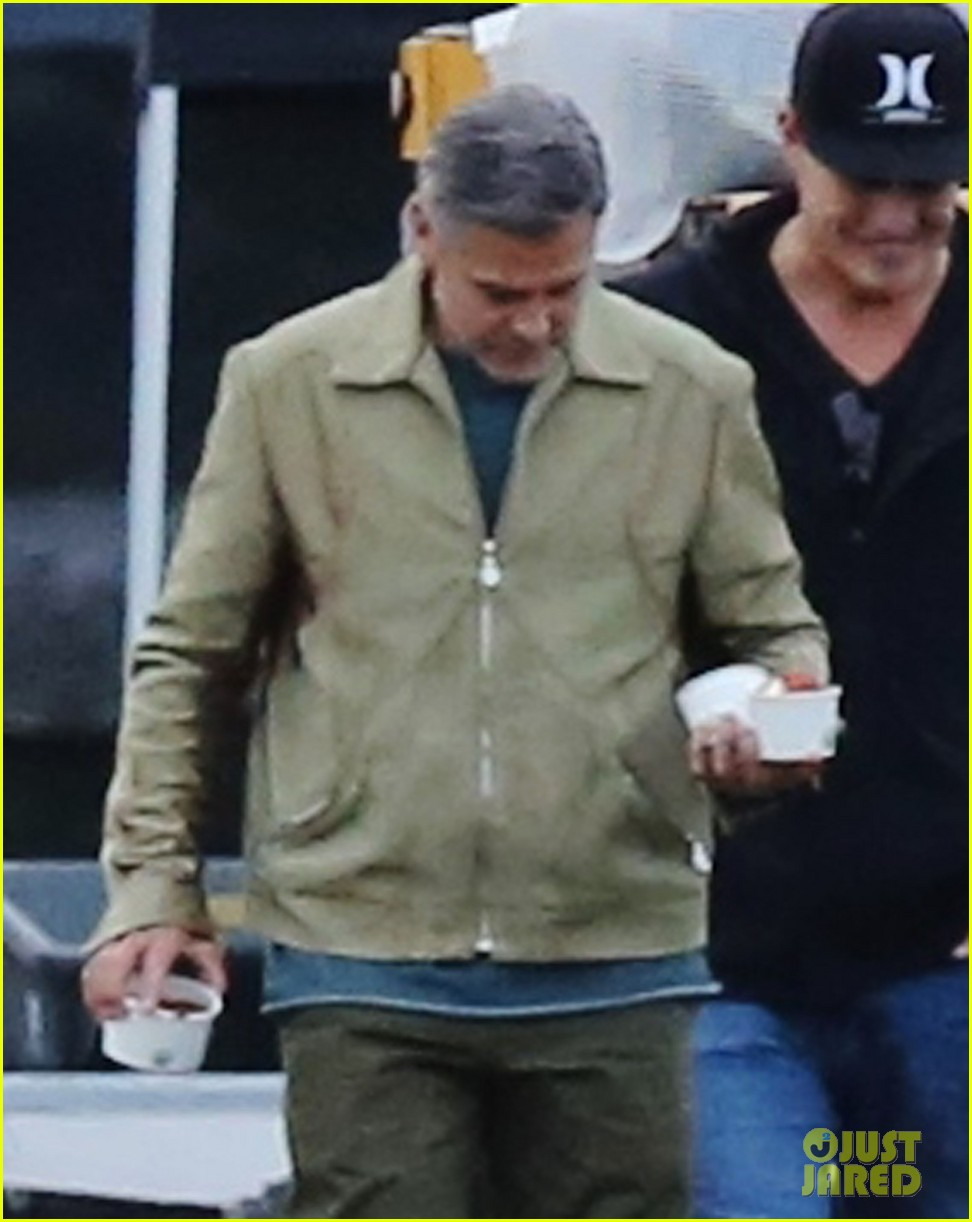 george clooney back to work after wedding 023220776