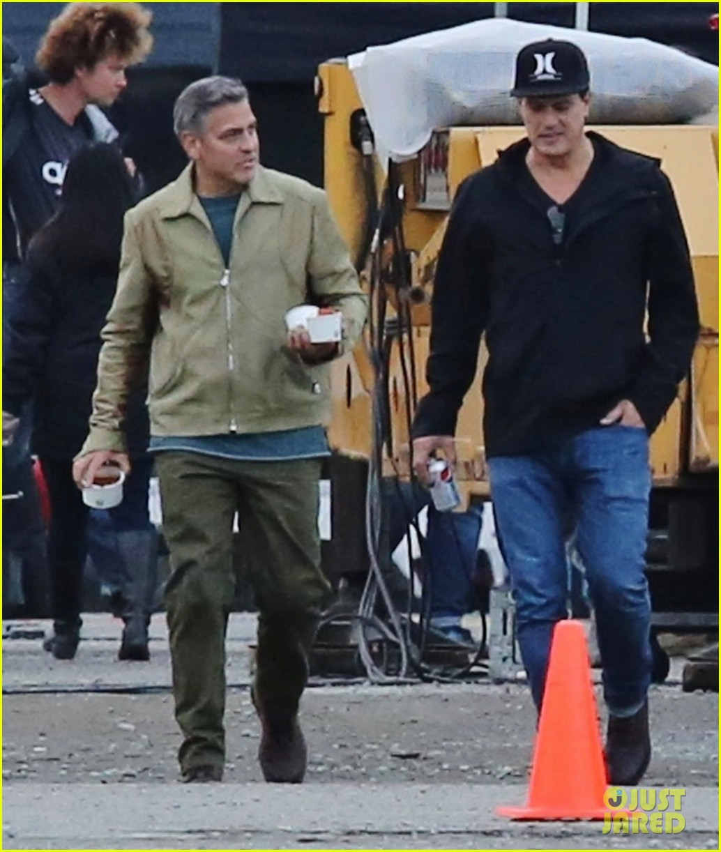 george clooney back to work after wedding 053220779