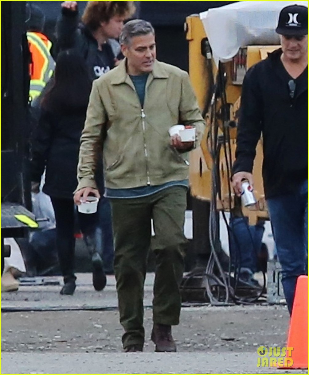 george clooney back to work after wedding 063220780