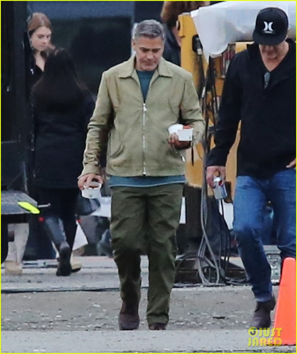 george clooney back to work after wedding 073220781