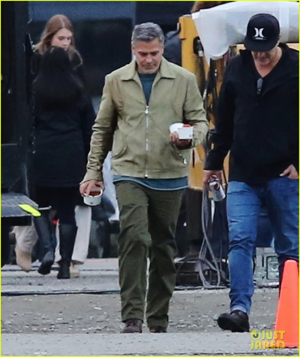 george clooney back to work after wedding 083220782