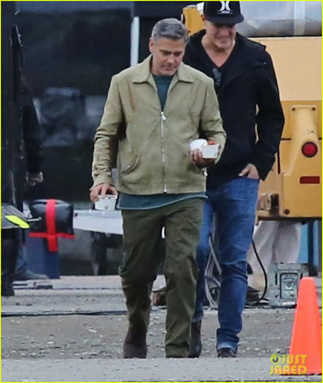 george clooney back to work after wedding 093220783