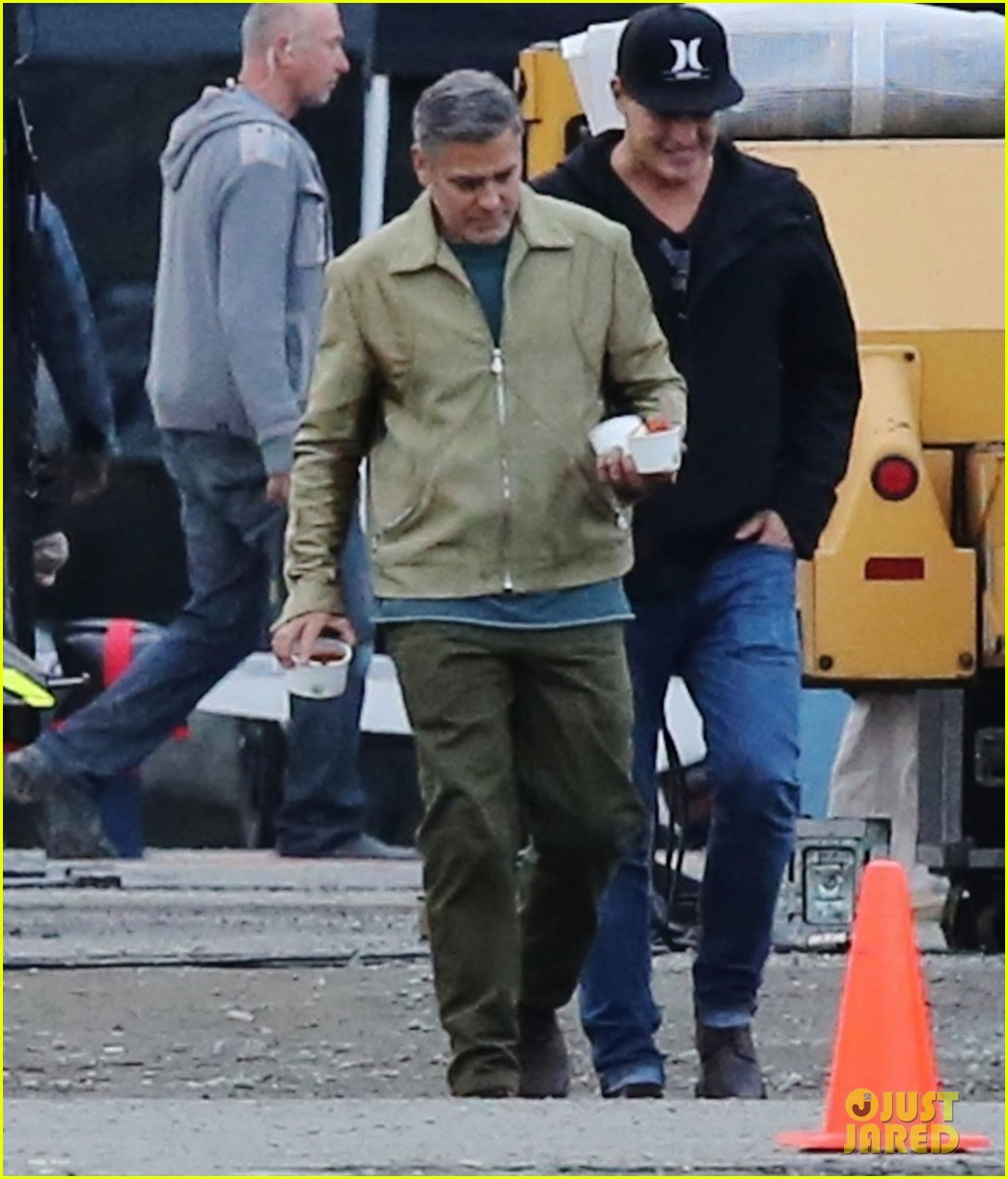george clooney back to work after wedding 113220785