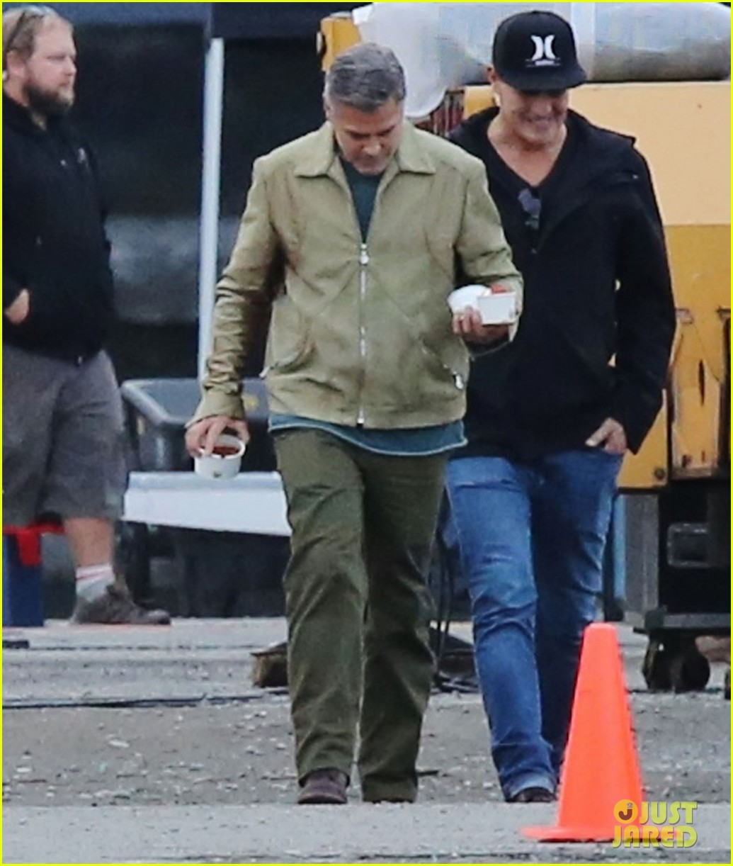 george clooney back to work after wedding 123220786