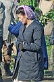 catherine zeta jones purple hairnet dads army 06