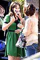 zooey deschanel goes green for new girl 10