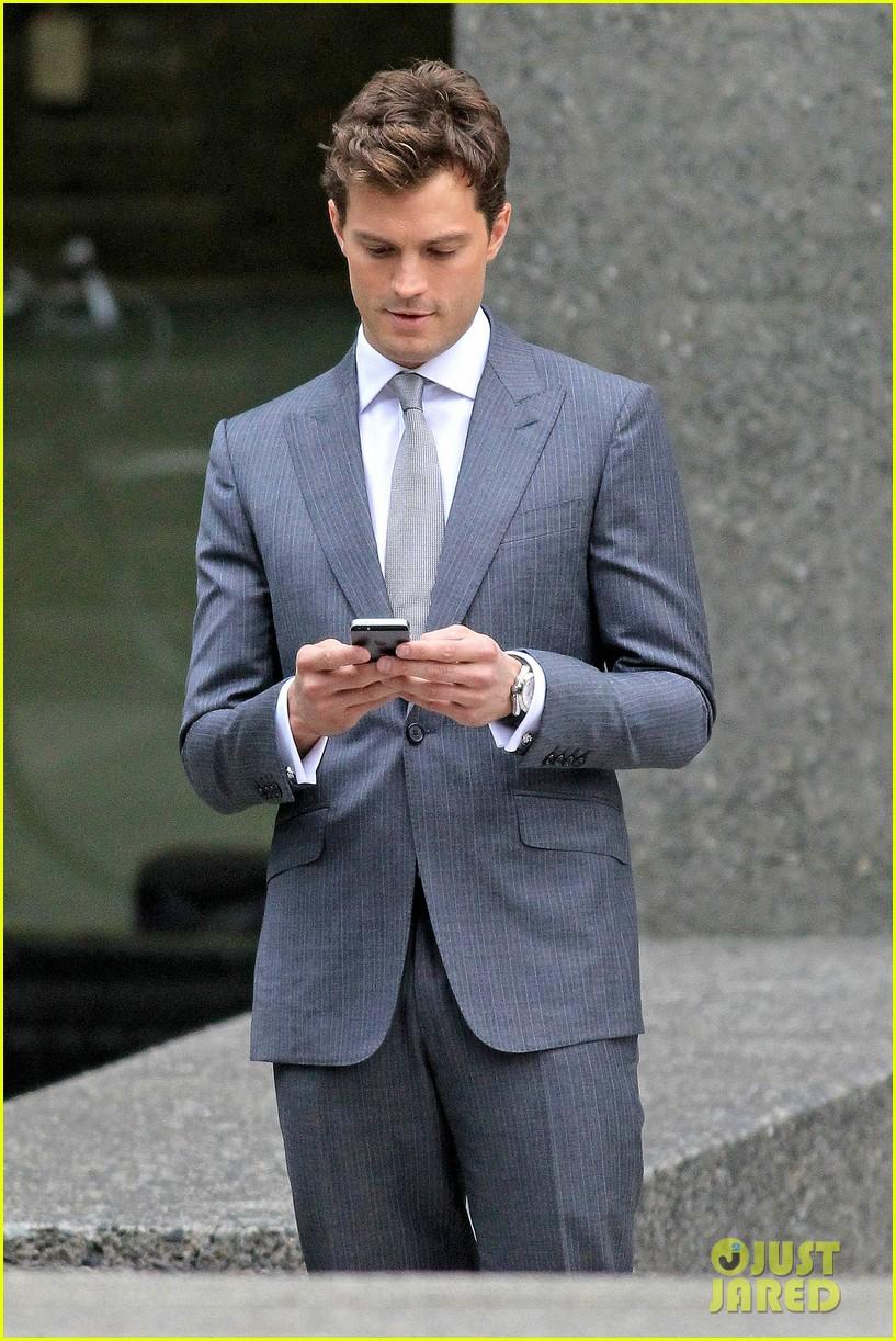 grey Jamie dornan