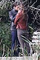 jamie dornan dakota johnson kiss in the woods 07