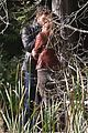 jamie dornan dakota johnson kiss in the woods 10