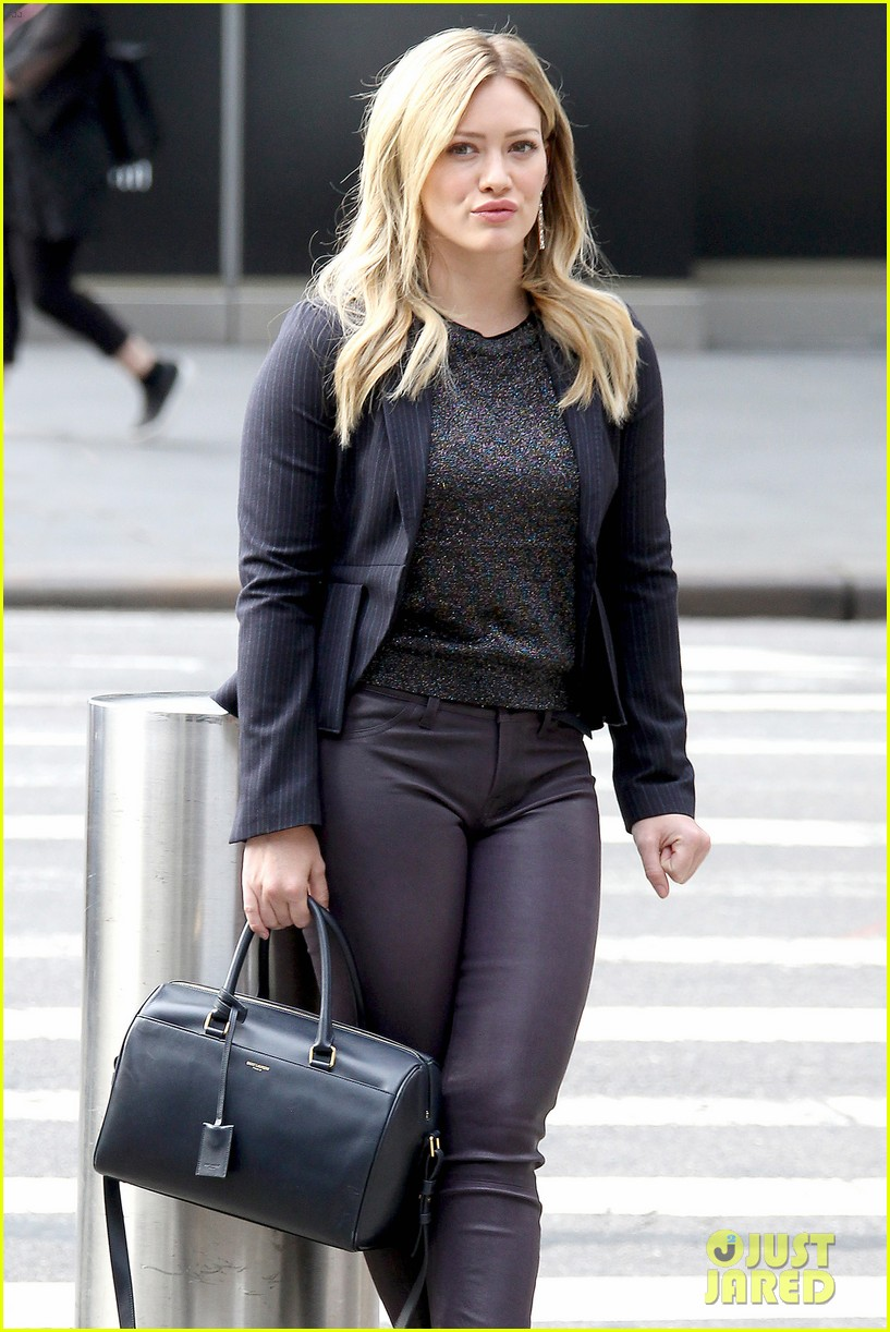Hilary Duff Gets 'Younger' in NYC After 27th Birthday ... Hilary Duff Mean