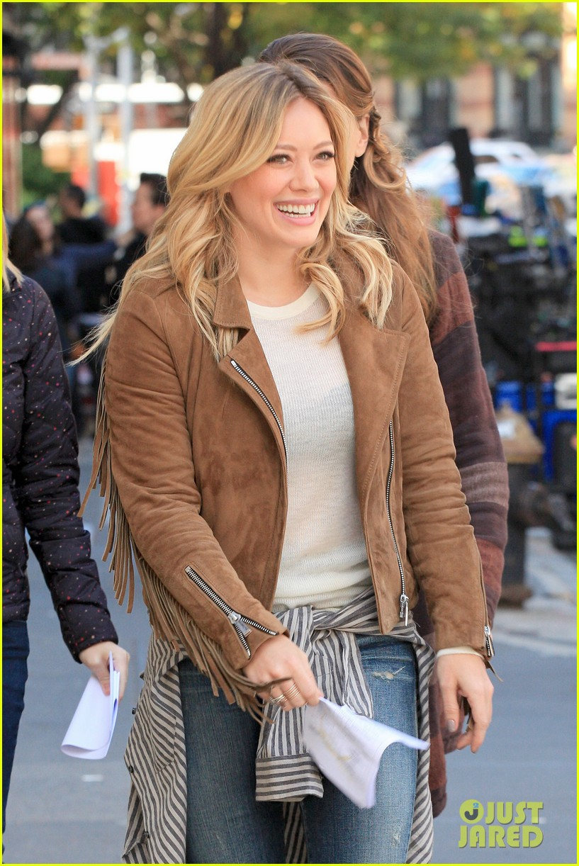 hilary duff early call time younger 07