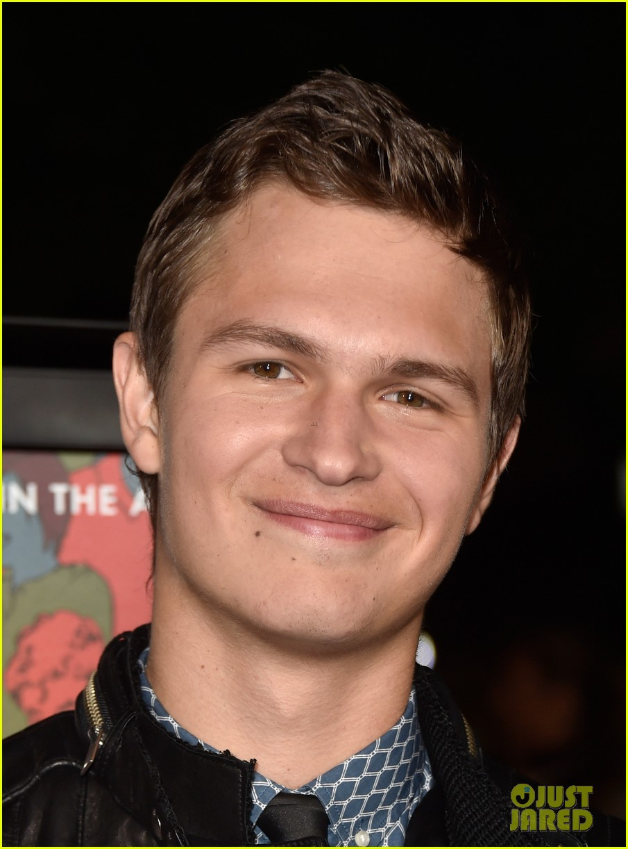 ansel elgort kaitlyn dever men women children premiere 363208533