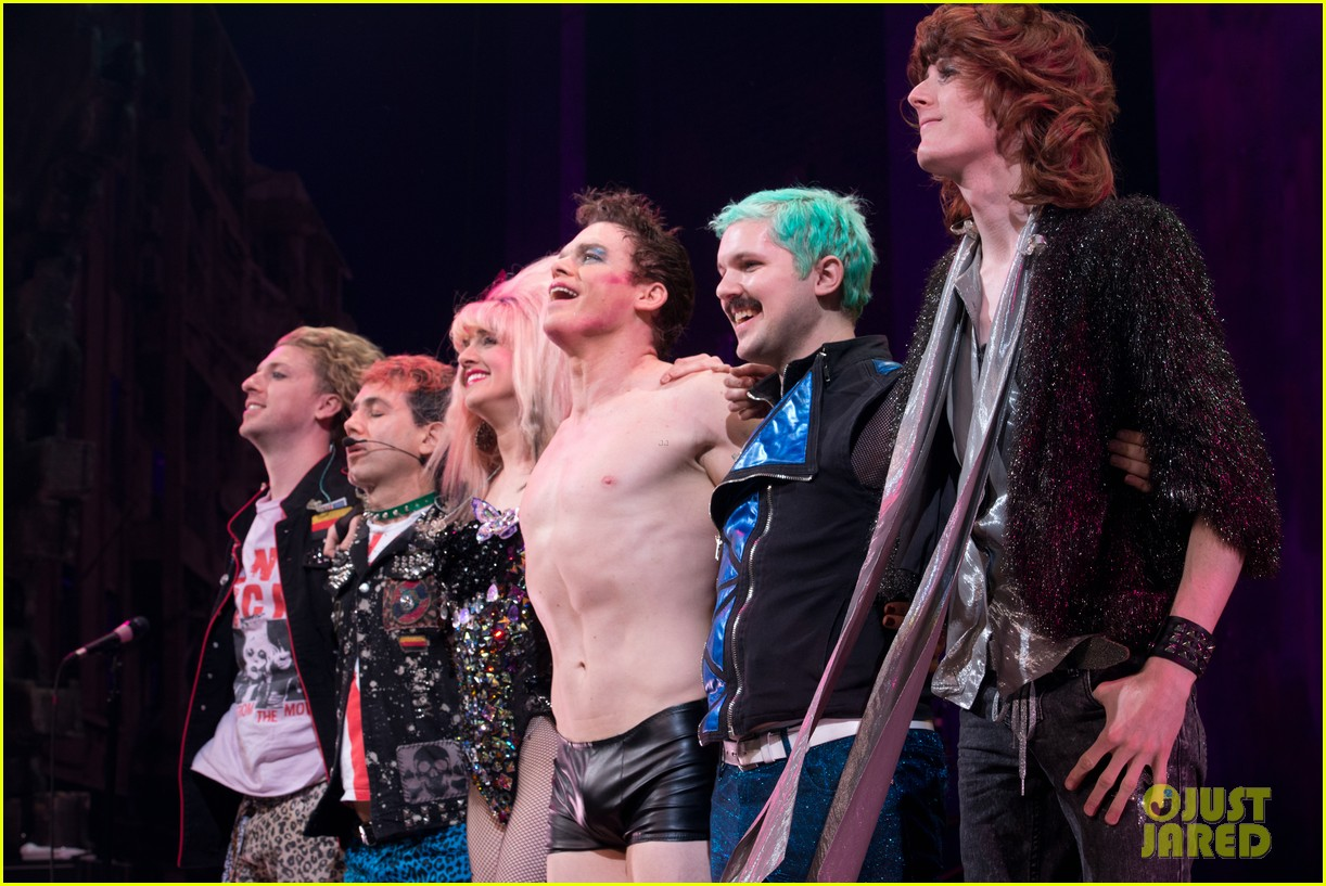 Michael C Hall Goes Shirtless In Tight Tiny Shorts For Hedwig