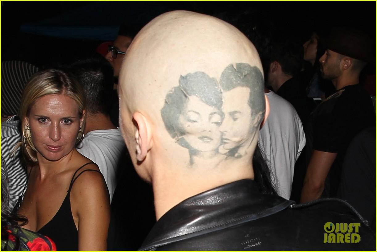 James franco head tattoo