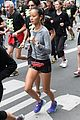 jamie chung runs marathon in paris 01