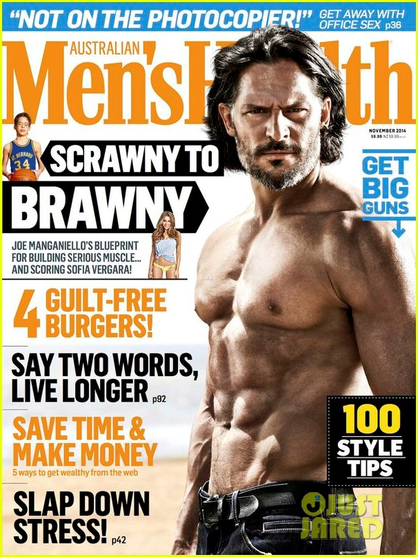 Joe Manganiello Is Totally Shirtless & Buff for 'Men's ...