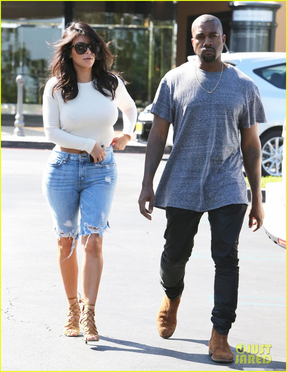 165d7a3fecd1c Kim Kardashian Wears Open-Back Shirt for Sunday Date with Kanye West  Photo  3222607