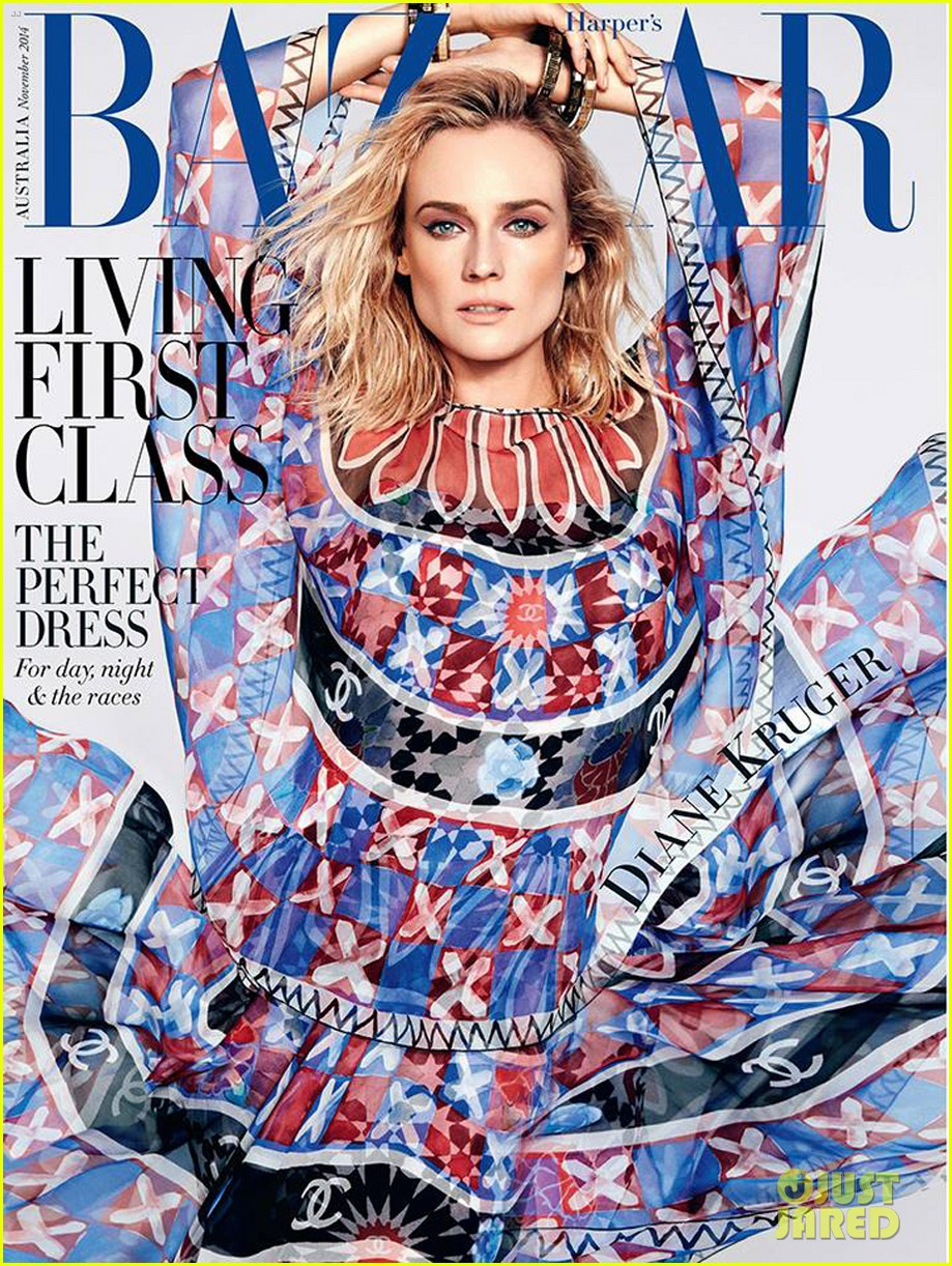 Kruger diane harpers bazaar australia november forecast to wear in spring in 2019