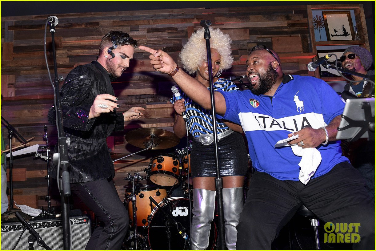 Adam Lambert Brings the Entertainment to Matthew Morrison's ...