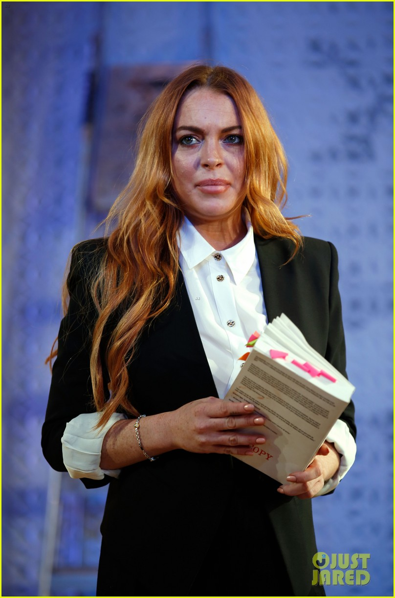 lindsay lohan more comfortable speed the plow 053208721