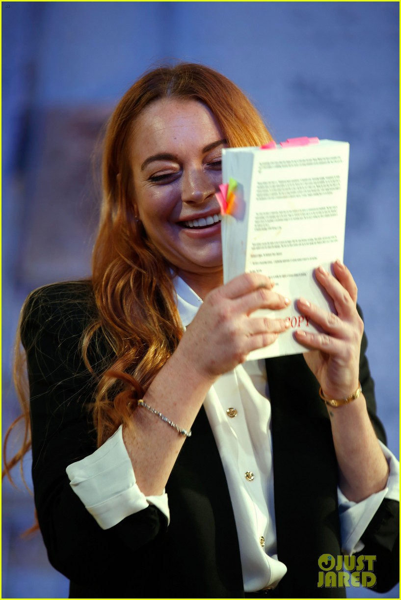 lindsay lohan more comfortable speed the plow 083208724