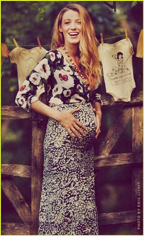 Pregnant Blake Lively Shares More Baby Bump Photos!: Photo ...