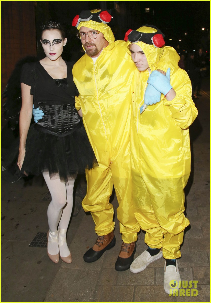 Guy Ritchie & Son Rocco Are 'Breaking Bad' for Halloween!: Photo ...