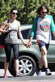 krysten ritter new boyfriend adam granduciel hit the gym 01