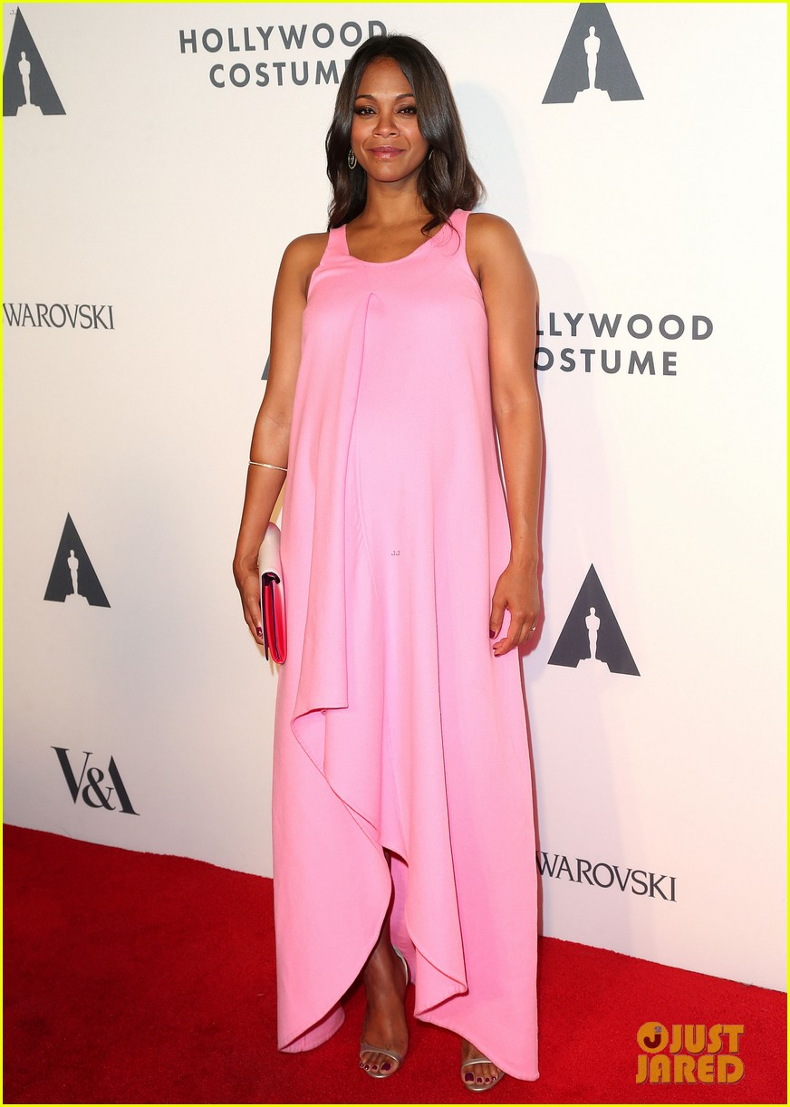 Zoe Saldana Talks About Halloween Costumes for Her Babies!: Photo ...