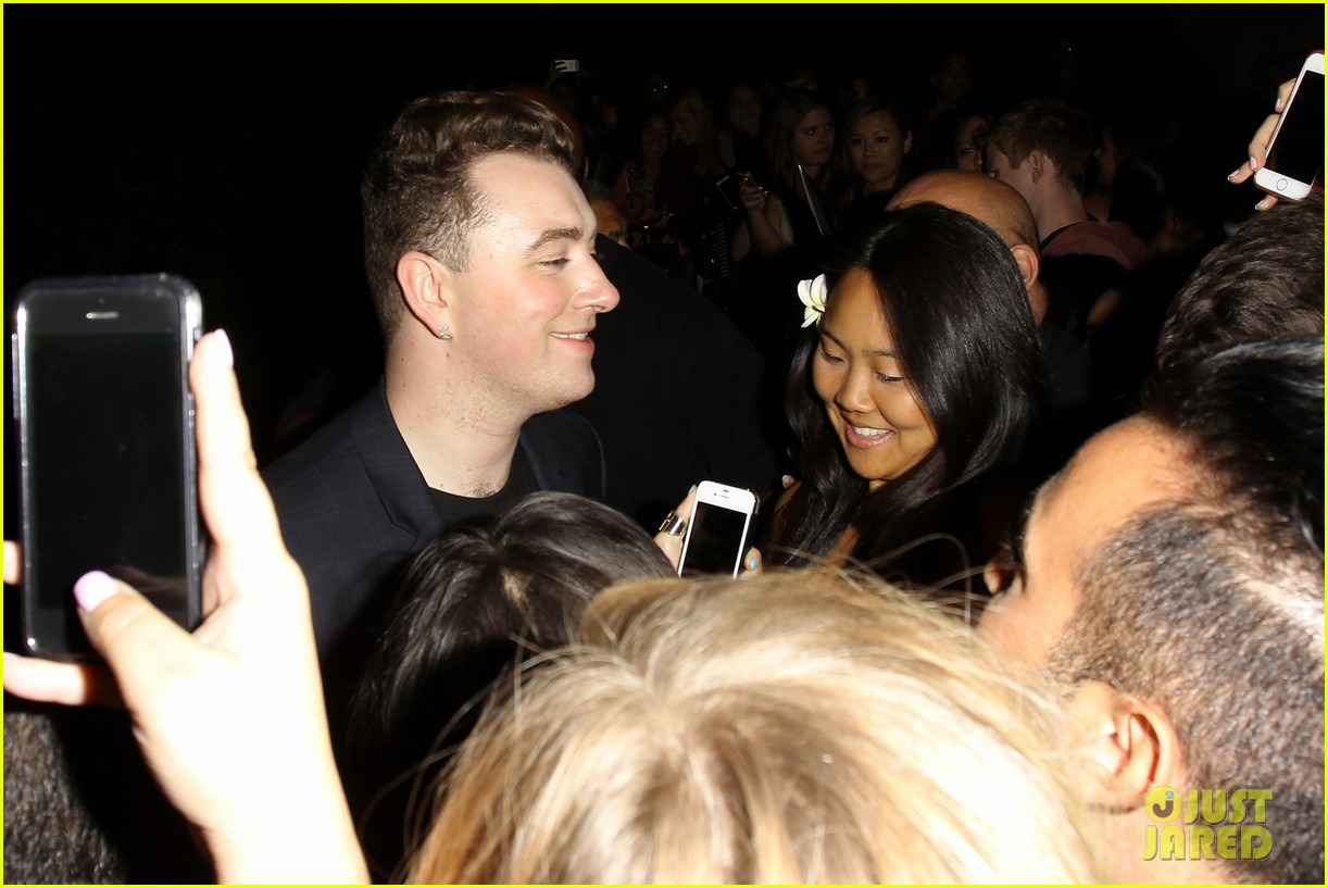 sam smith glowing after sold out concert at greek theater 103209389