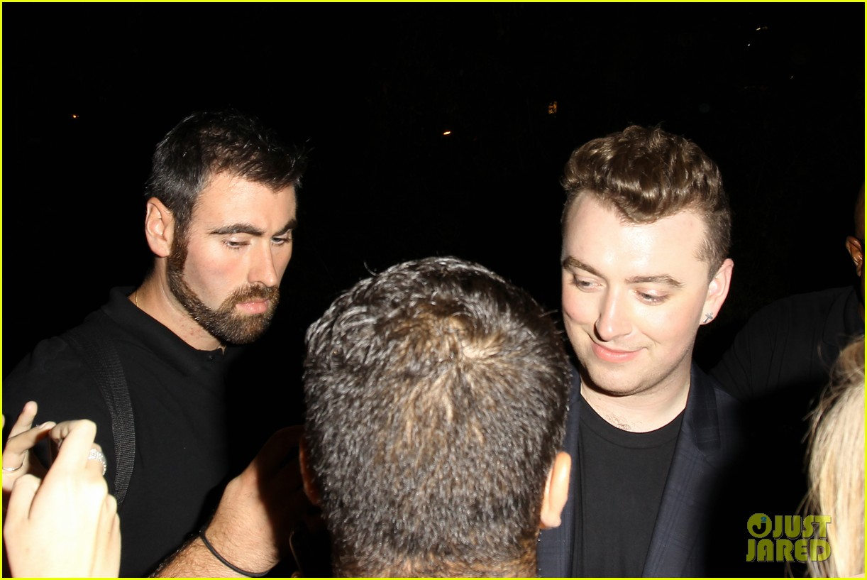 sam smith glowing after sold out concert at greek theater 113209390