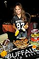 chrissy teigen flips hosts buffalo tailgate party 19