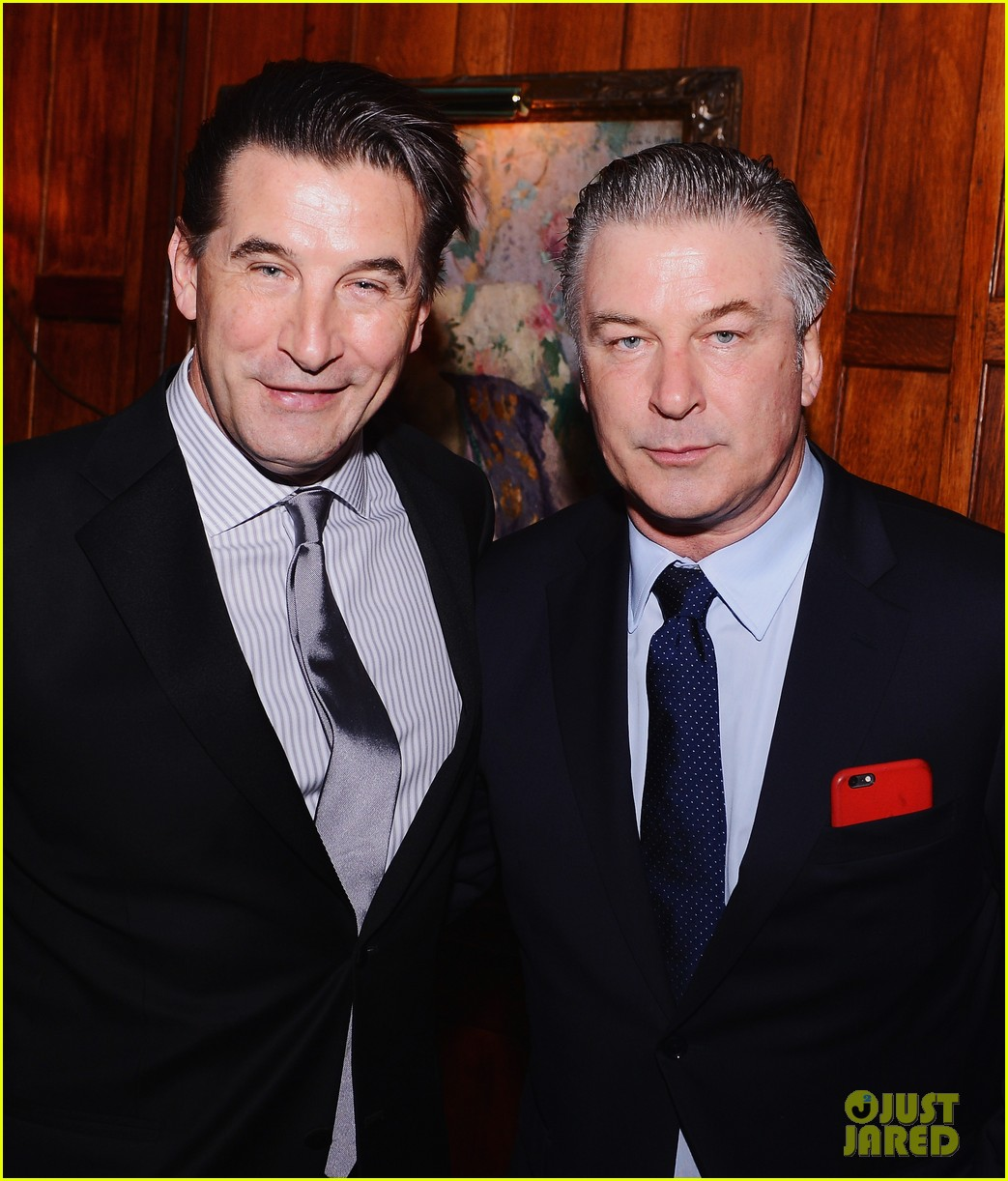 Alec Baldwin Suits Up To Join Brother William At The Russian