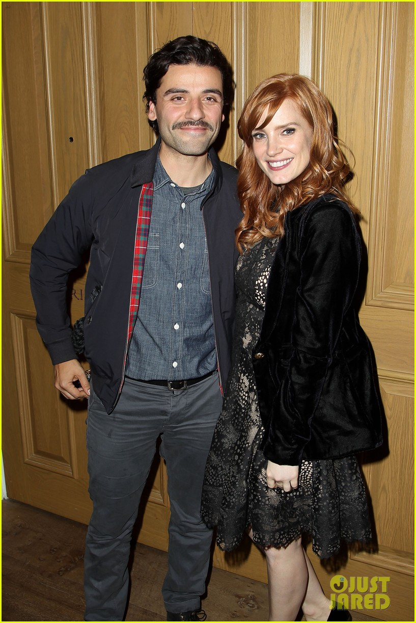 jessica chastain oscar isaac open up about bad auditions for a most violent year 133250193