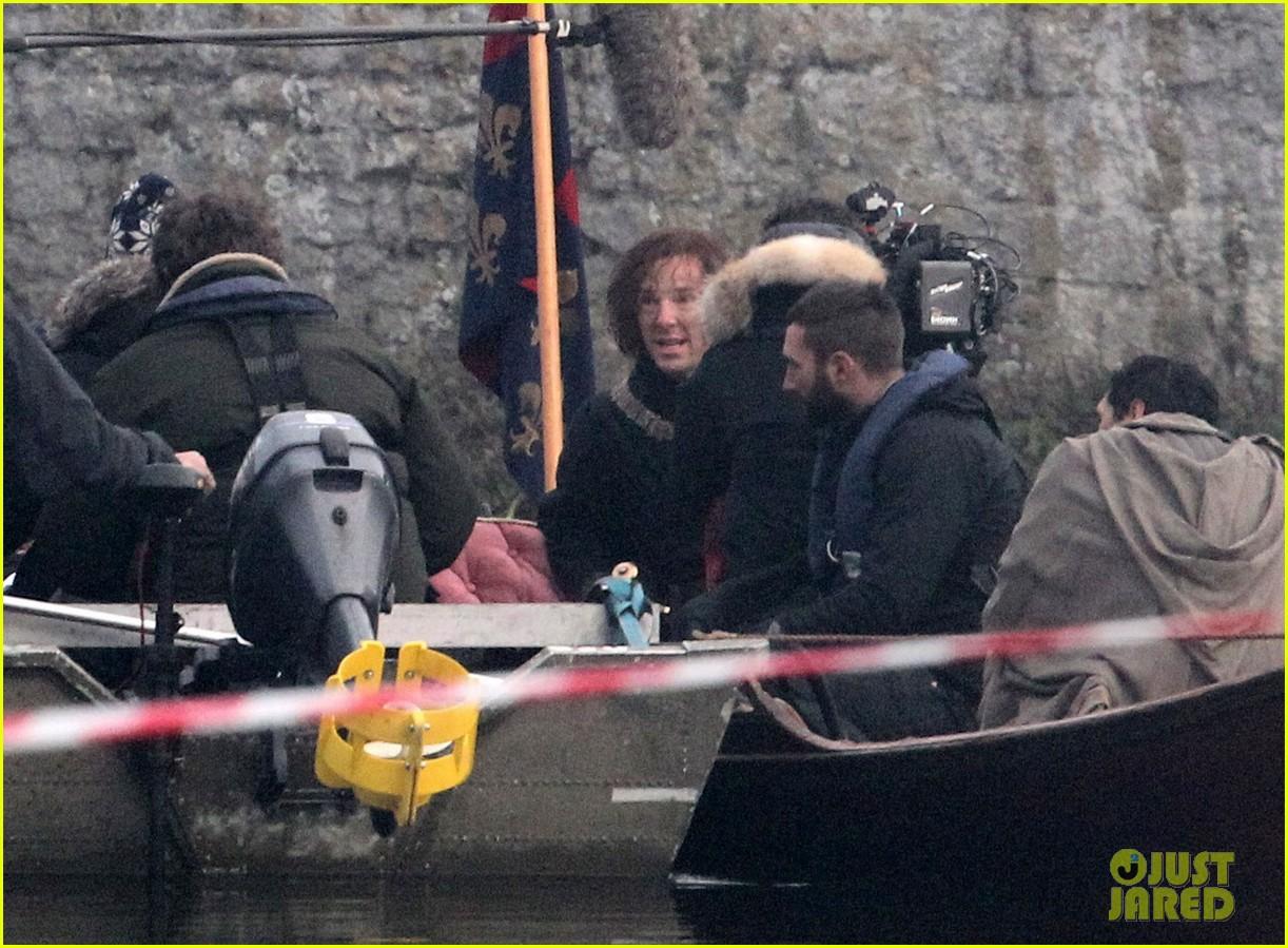 benedict cumberbatch red hair filming 063251128