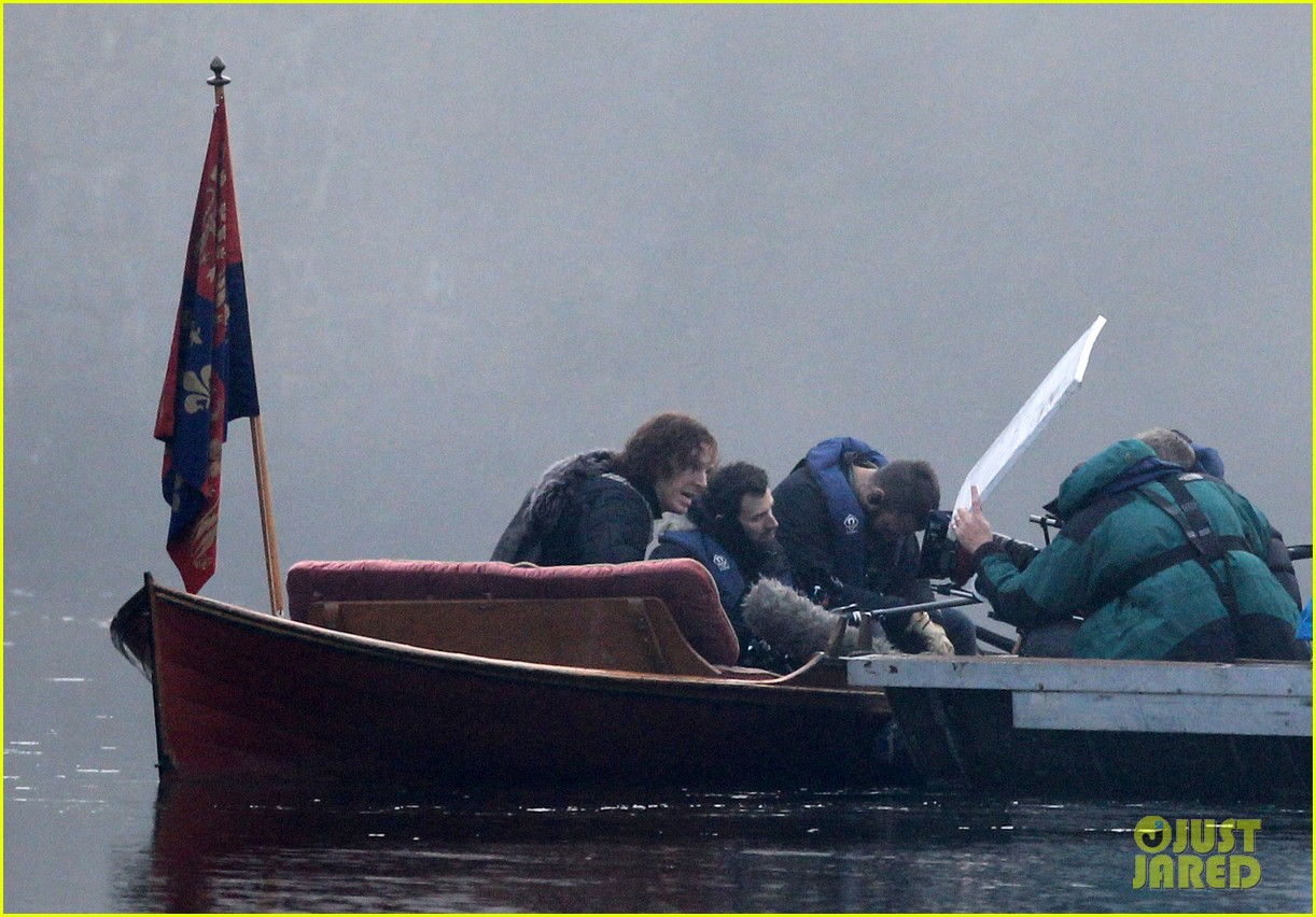 benedict cumberbatch red hair filming 303251152