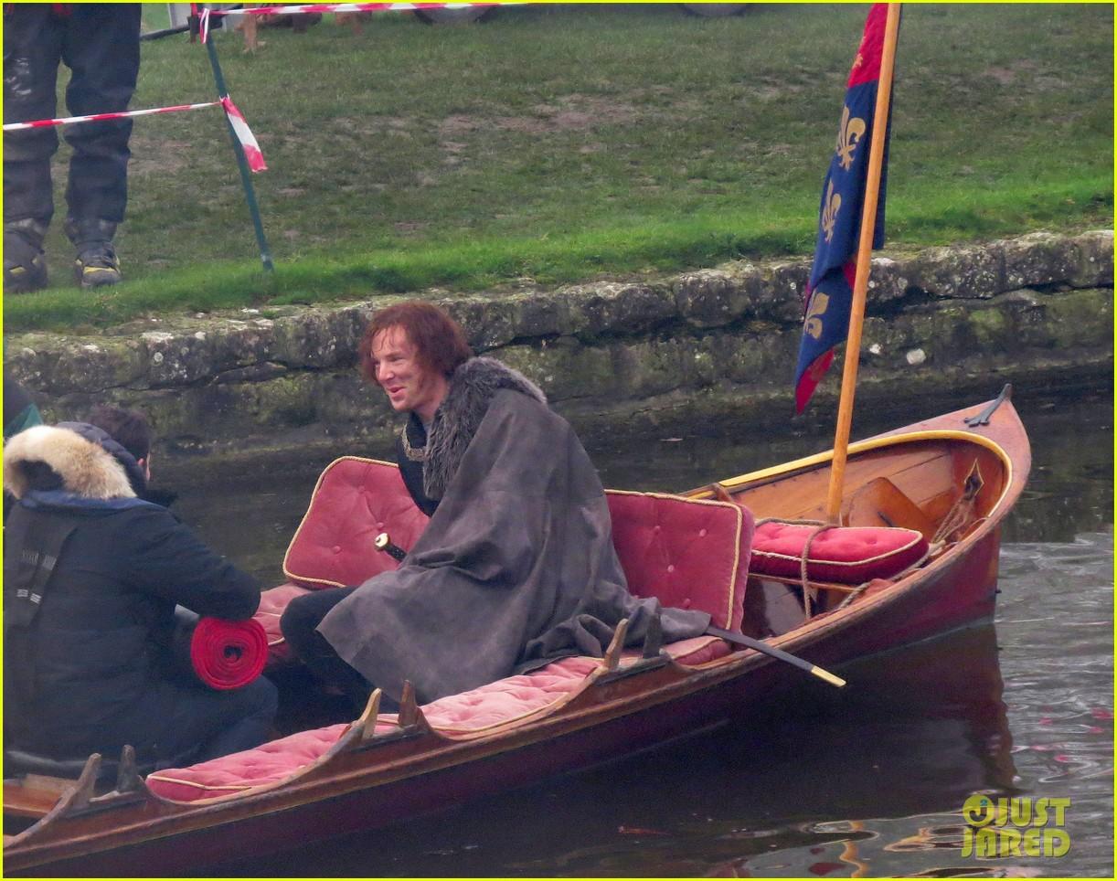 benedict cumberbatch red hair filming 393251161